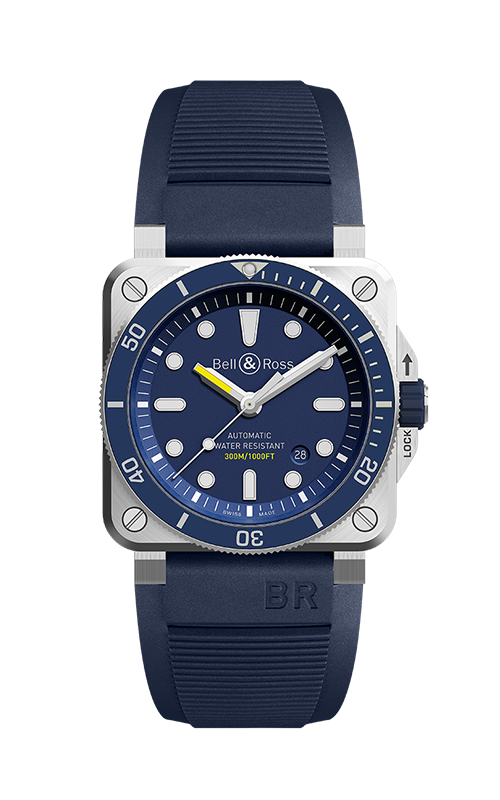 Bell and Ross BR 03-92 Watch BR 03-92 Diver Blue product image